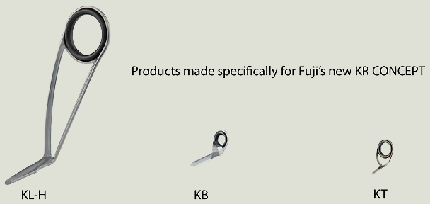 Products made speciically for Fuji's new KR CONCEPT: KL-H, KB, KT