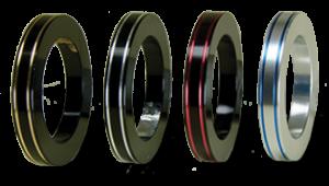 Double Stripe Butt Cap Rings in 4 colors