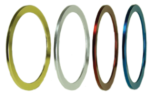 Solid Color Reel Seat Trim Rings in all 4 colors